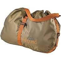 NEW FISHPOND BURRITO WADER BAG fly fishing roll out changing mat waders boots